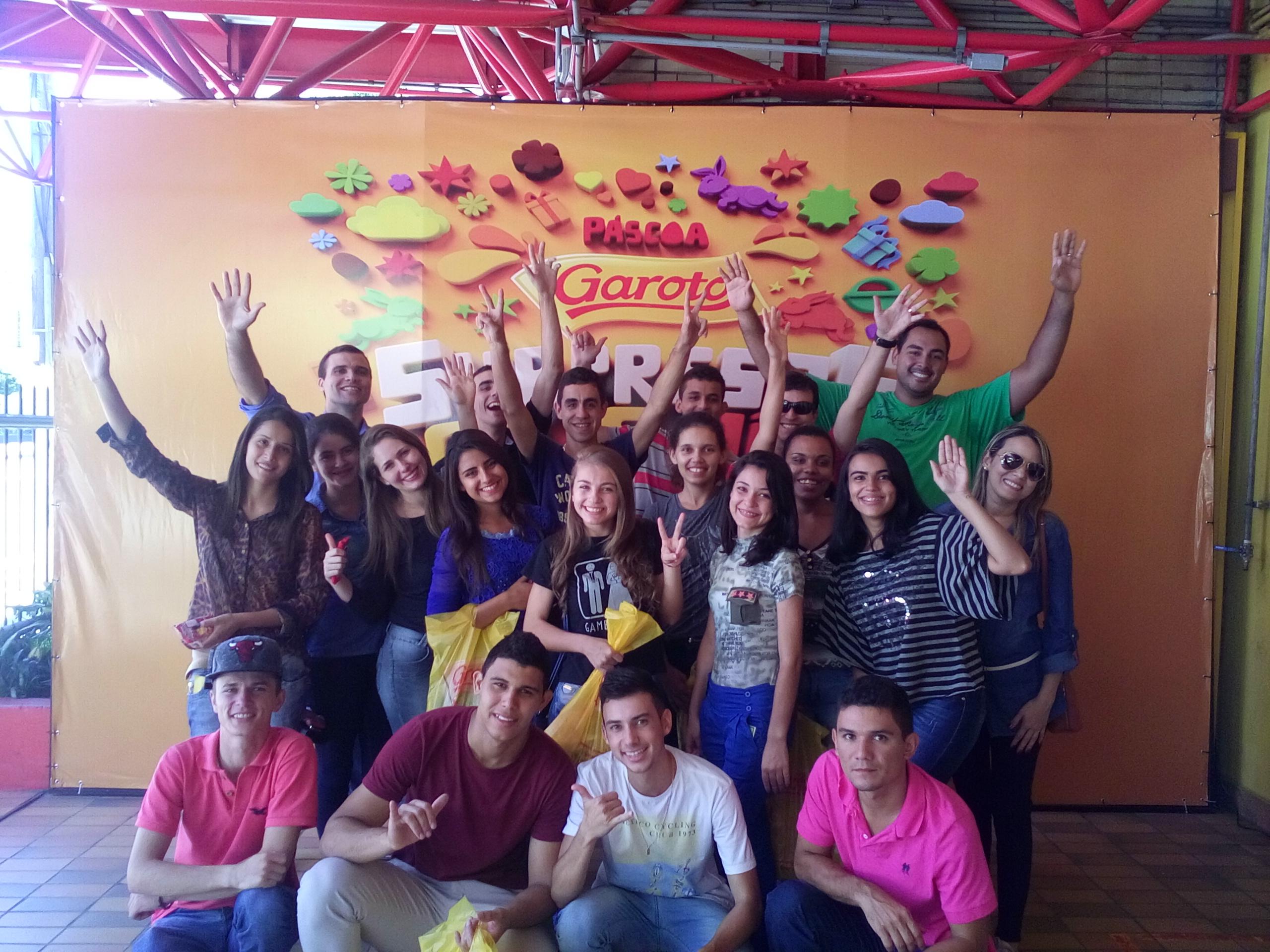 Alunos visitam Fábrica de Chocolates Garoto