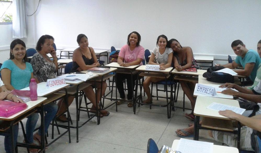 Administração faz aula diferenciada na Doctum Vitória no Dia da Educação