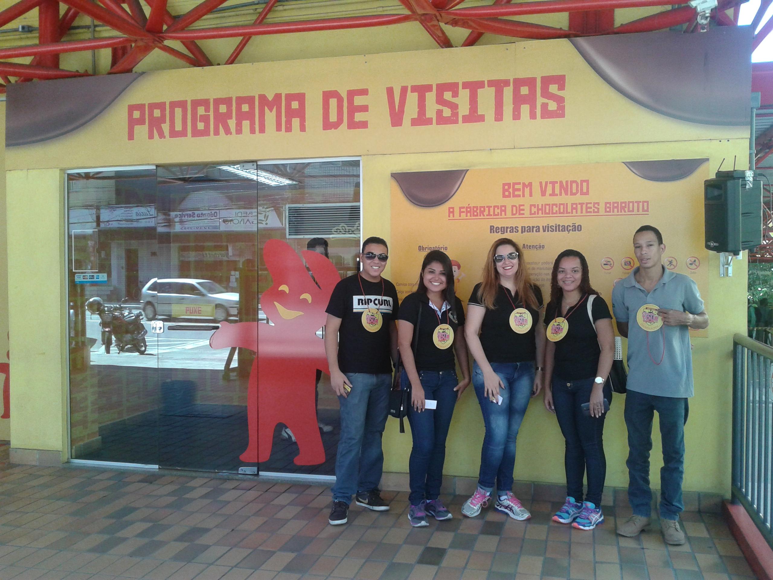 Experiência Doctum – Calouros de Engenharia de Produção de Serra visitam a Fábrica de Chocolates Garoto