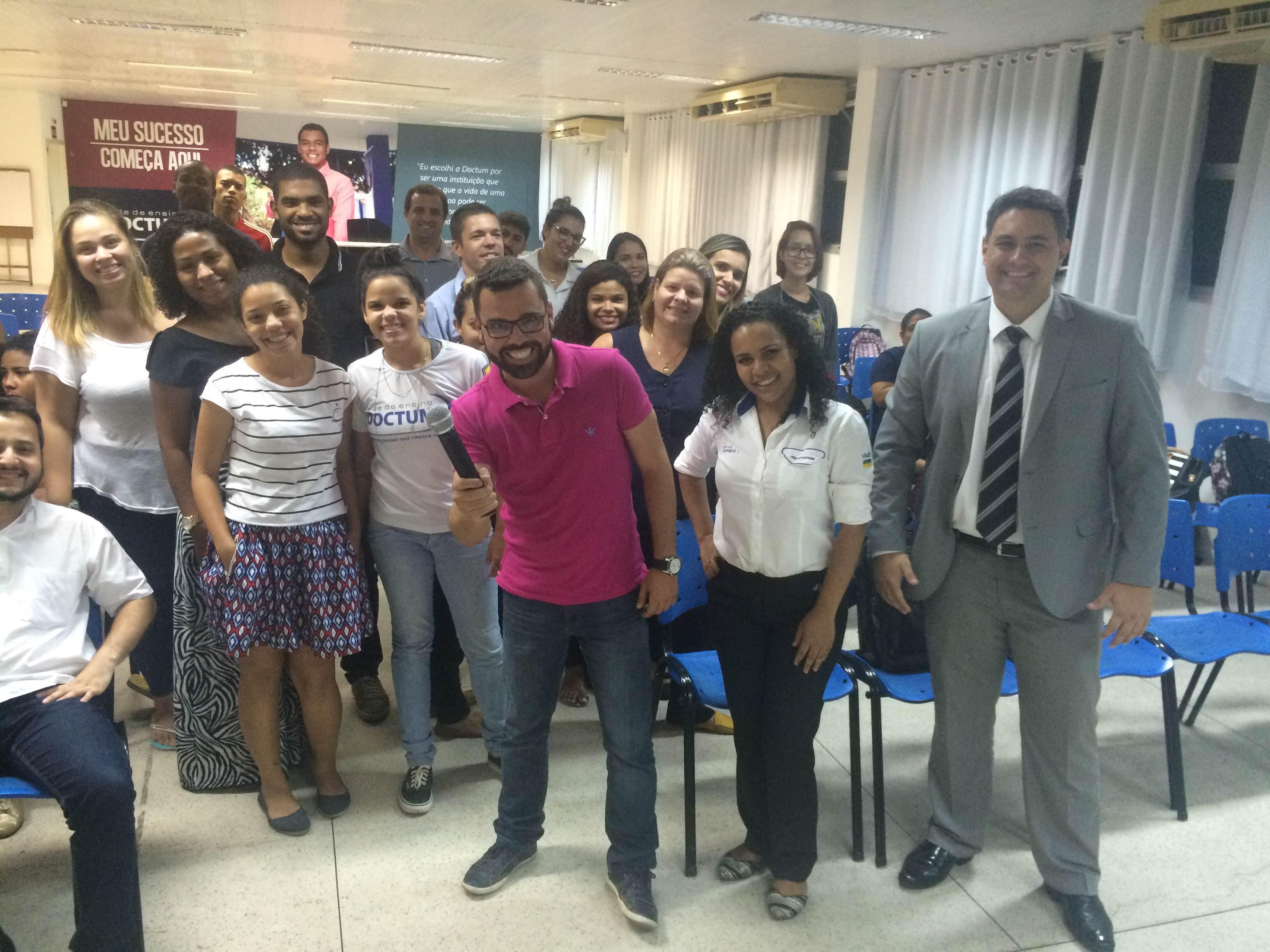 Experiência Doctum – Alunos de Administração de Vitória participam de palestra sobre Comunicação Institucional