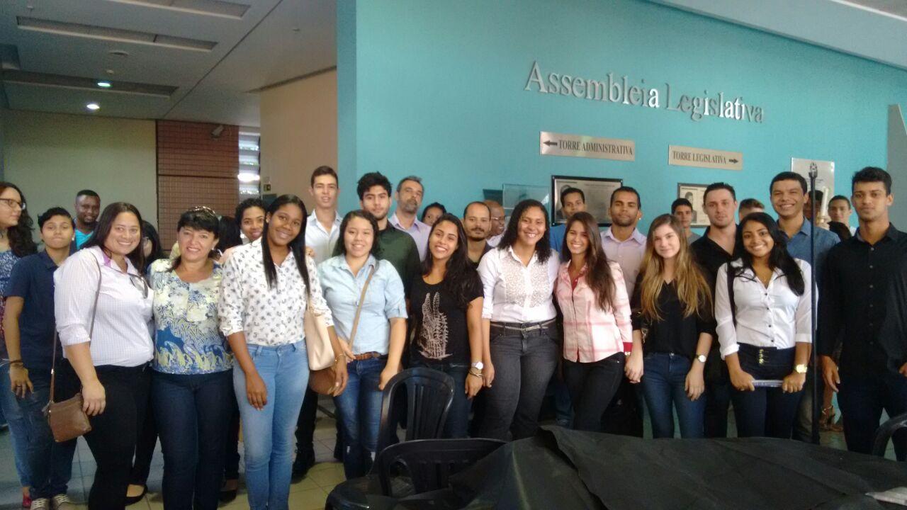 Experiência Doctum – Calouros de Direito de Vitória visitam Assembleia Legislativa do Espírito Santo