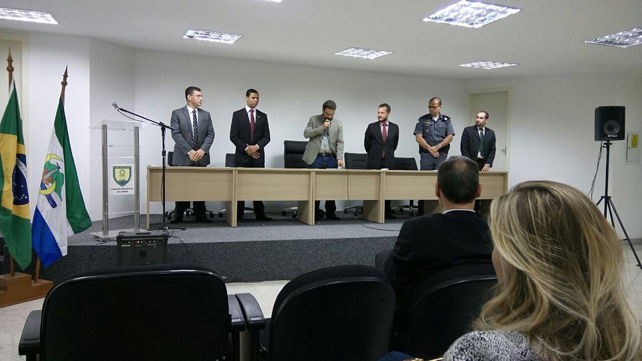 Curso de Direito de Serra realiza palestra sobre os impactos da criminalidade no município
