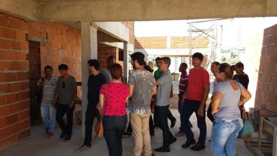 Futuros Engenheiros participam de visita técnica e acompanham obras no município de Cataguases