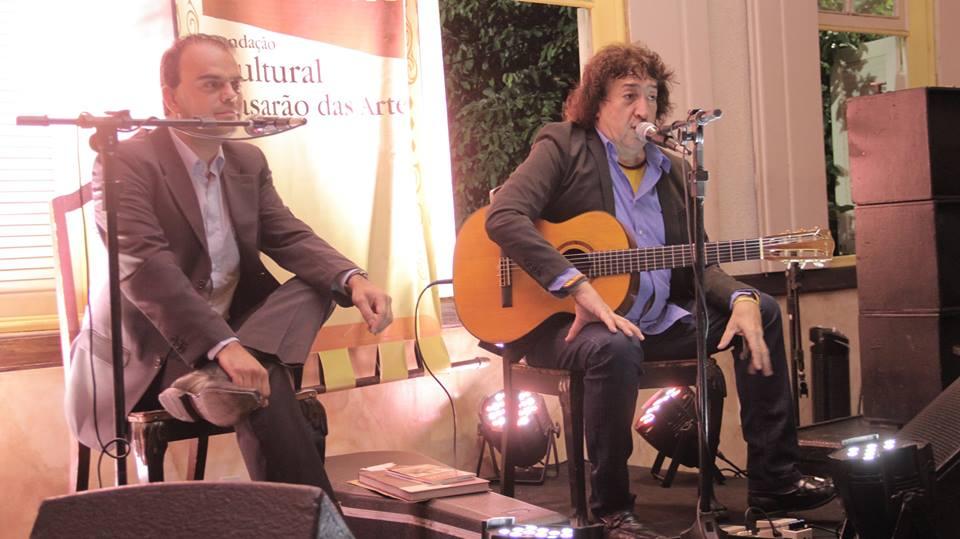 Com convites esgotados, Toninho Horta e Petrônio Souza se apresentaram no Casarão das Artes