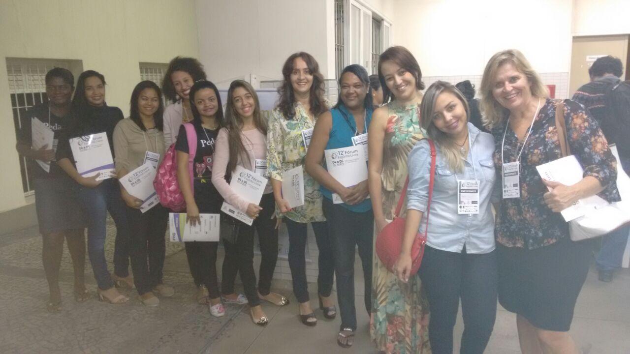 Alunas de Pedagogia de Vila Velha participam do 12º Fórum Espírito Livre
