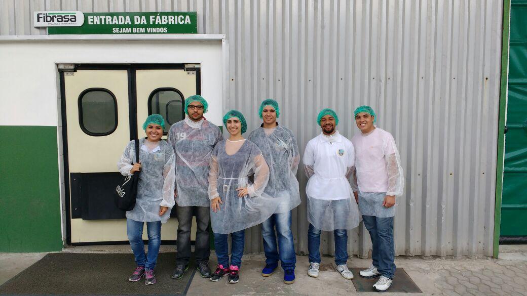 Alunos de Engenharia de Produção da Doctum Serra fazem visita técnica à Fibrasa