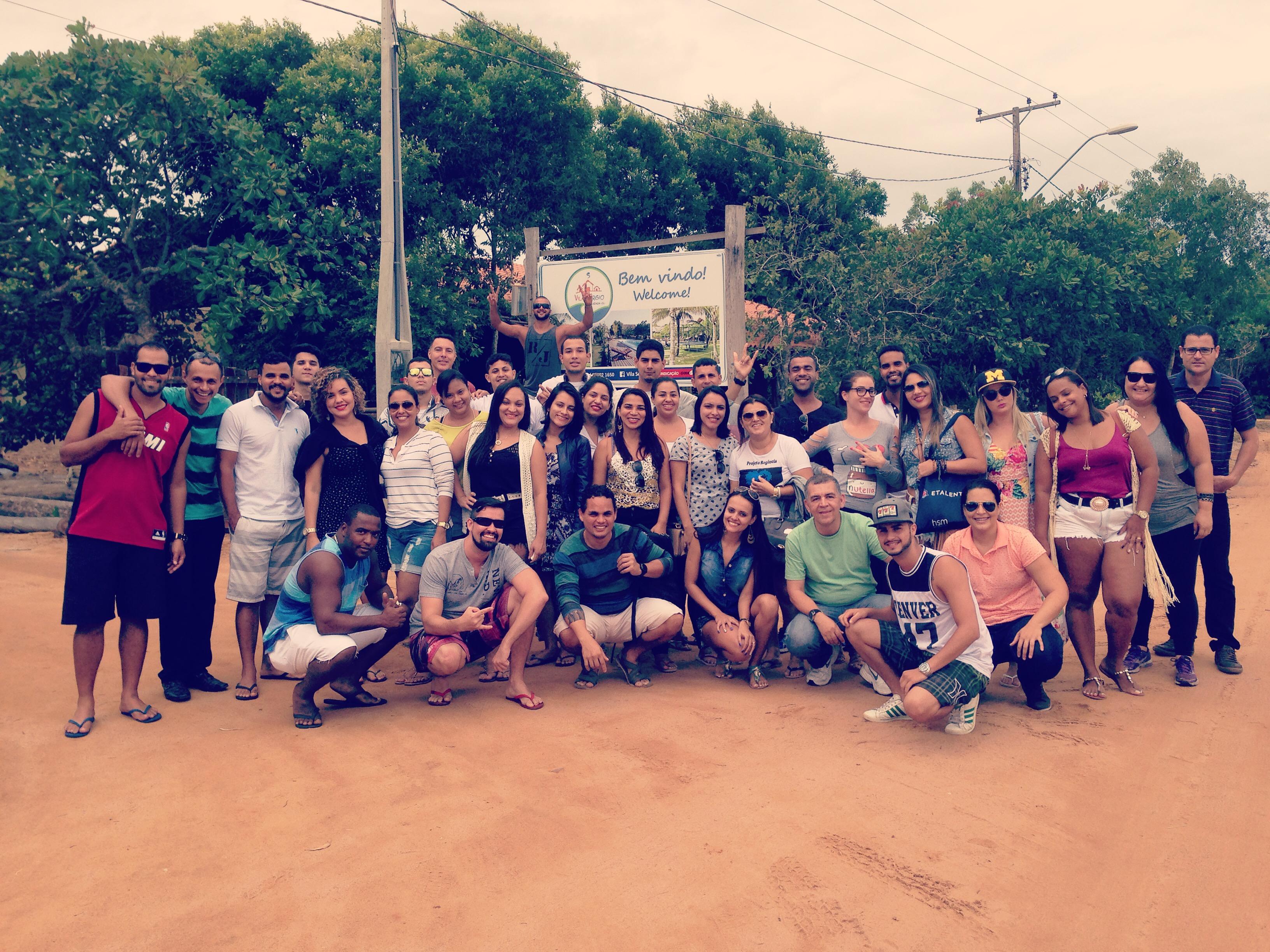 Alunos das unidades de Vitória e Vila Velha fazem visita técnica à vila de Regência
