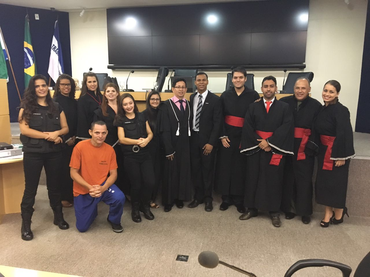 Alunos de Direito da Serra realizam a VI edição do Júri Simulado