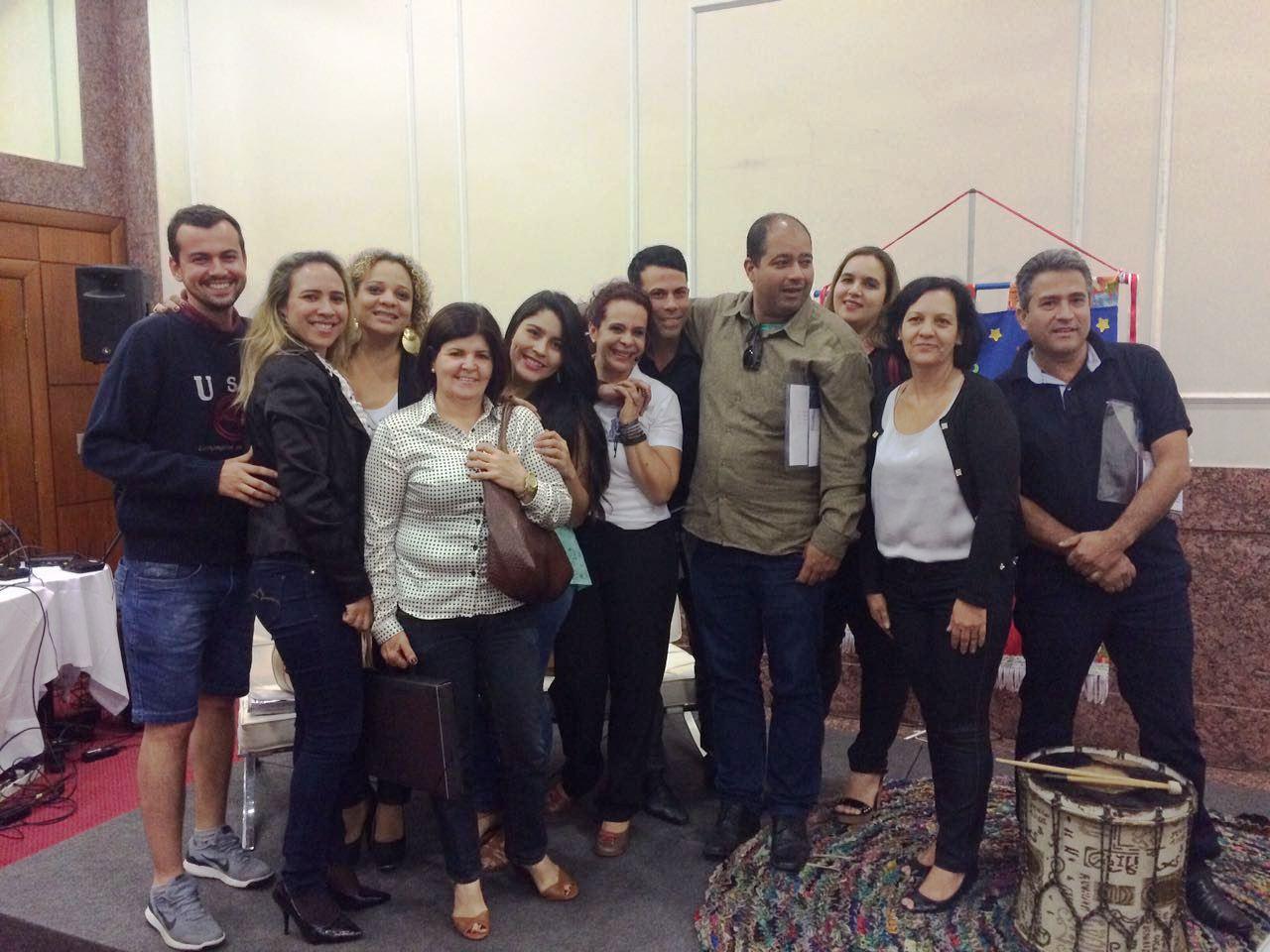 Professores e funcionários da Escola Técnica JK participam de treinamento em Belo Horizonte