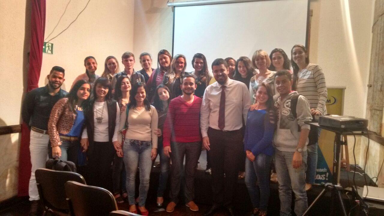 """Alunos do Curso de Serviço Social da FIC recebem palestra sobre """"Proteção Especial''"""