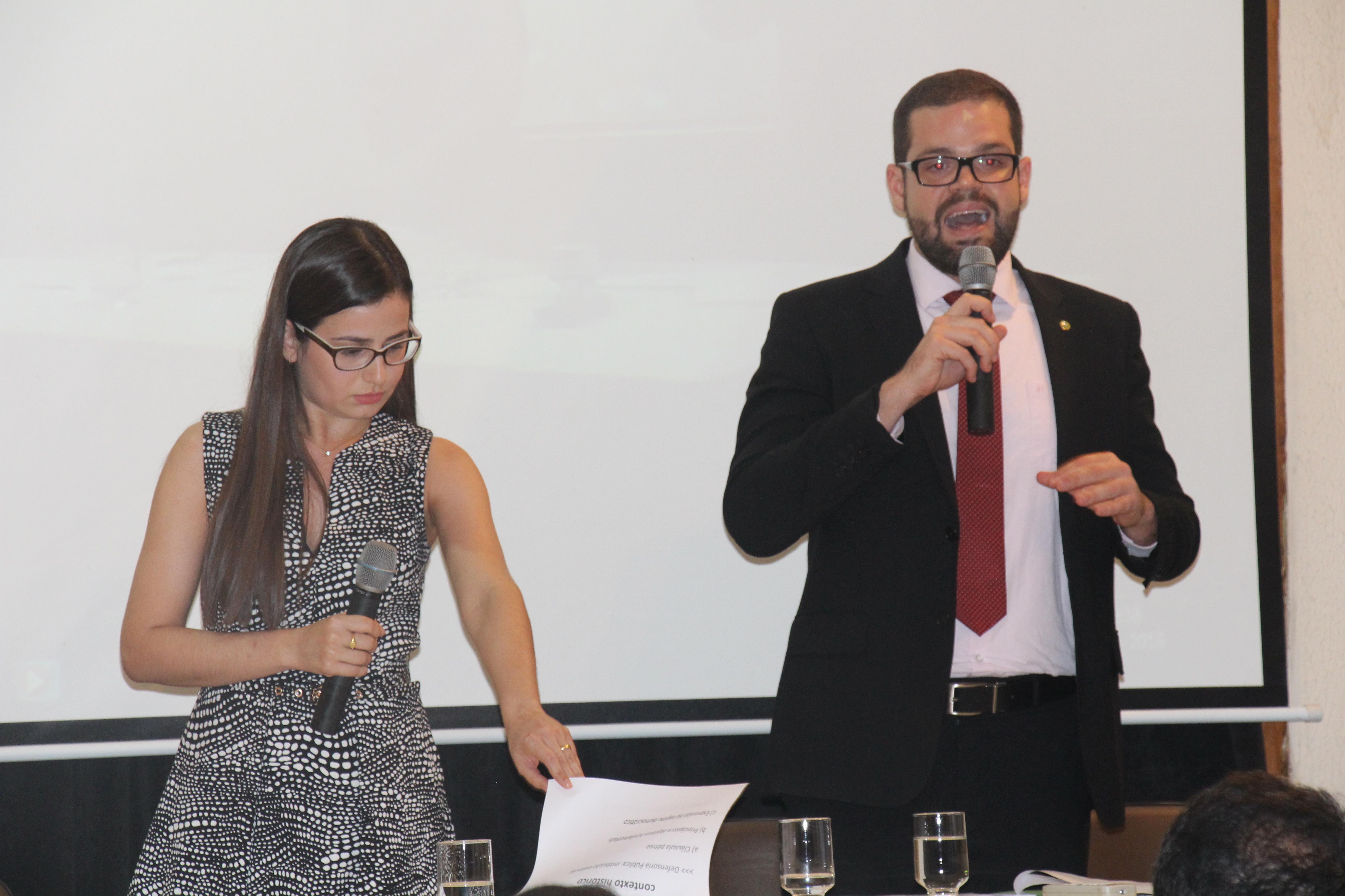 Alunos de Direito da FIC discutem a Defensoria Pública em Semana Acadêmica