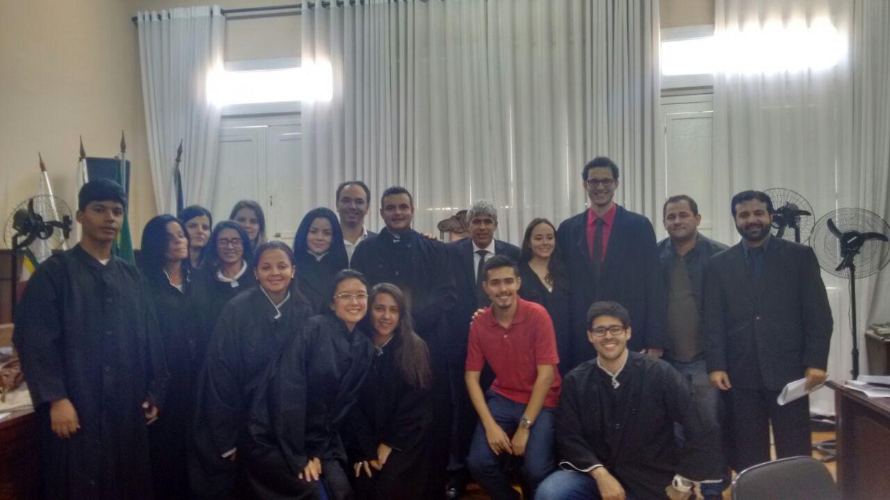 Curso de Direito da Doctum Caratinga realiza Júri Simulado