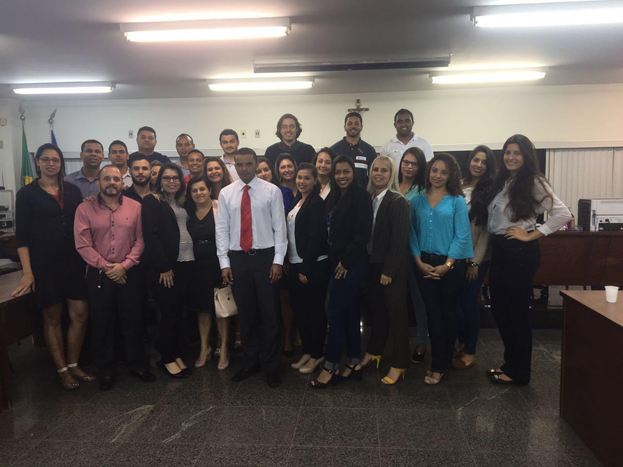 Alunos do Curso de Direito da unidade Serra acompanham julgamento no Plenário do Júri da Comarca do município