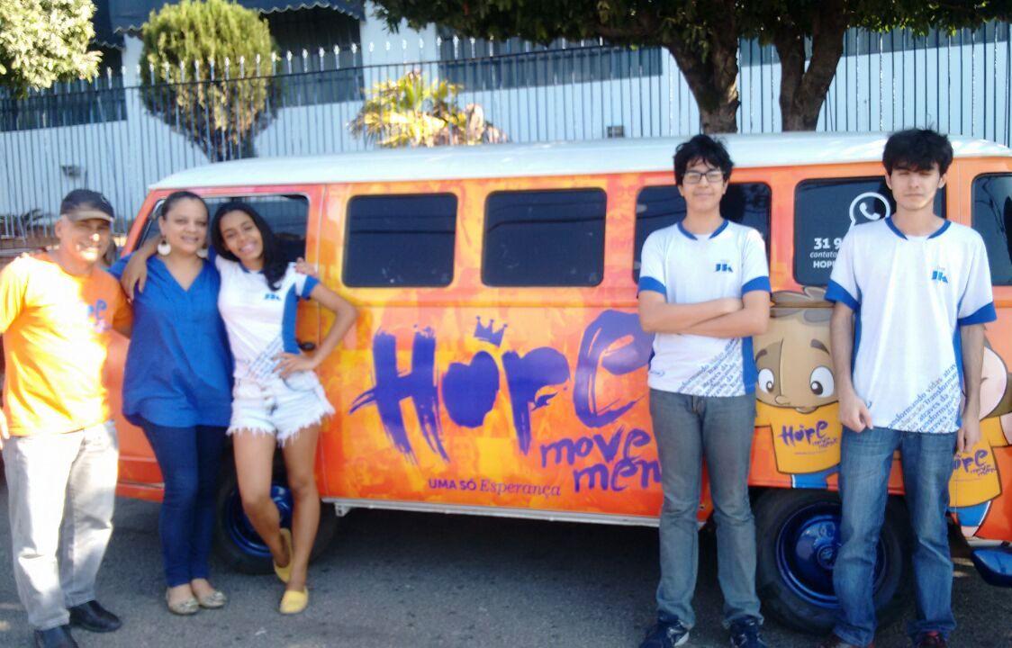 Doctum Ipatinga faz doação de agasalhos para a Casa da Esperança