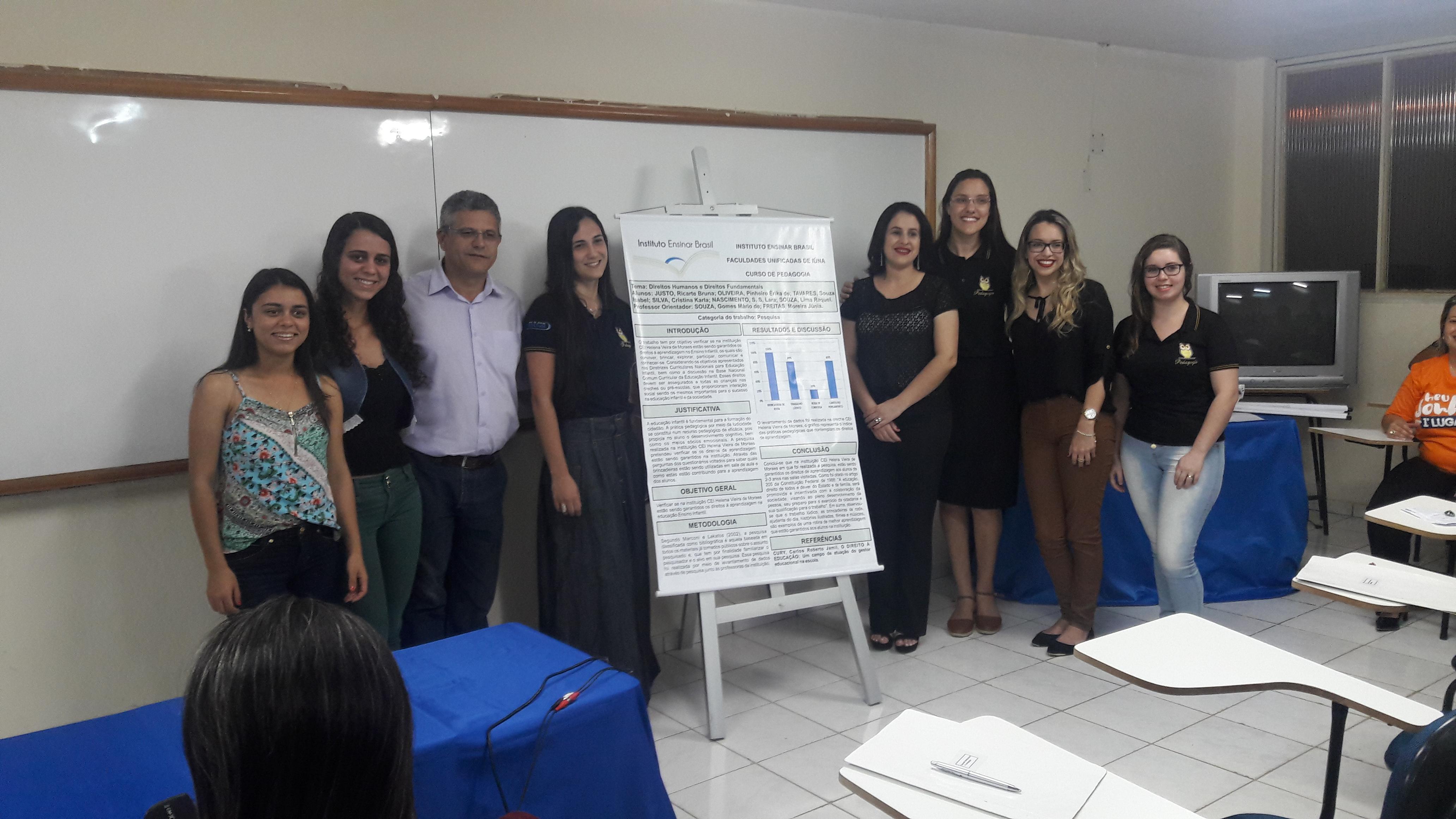 X Ateliê da Unidade de Iúna valoriza trabalhos científicos dos alunos