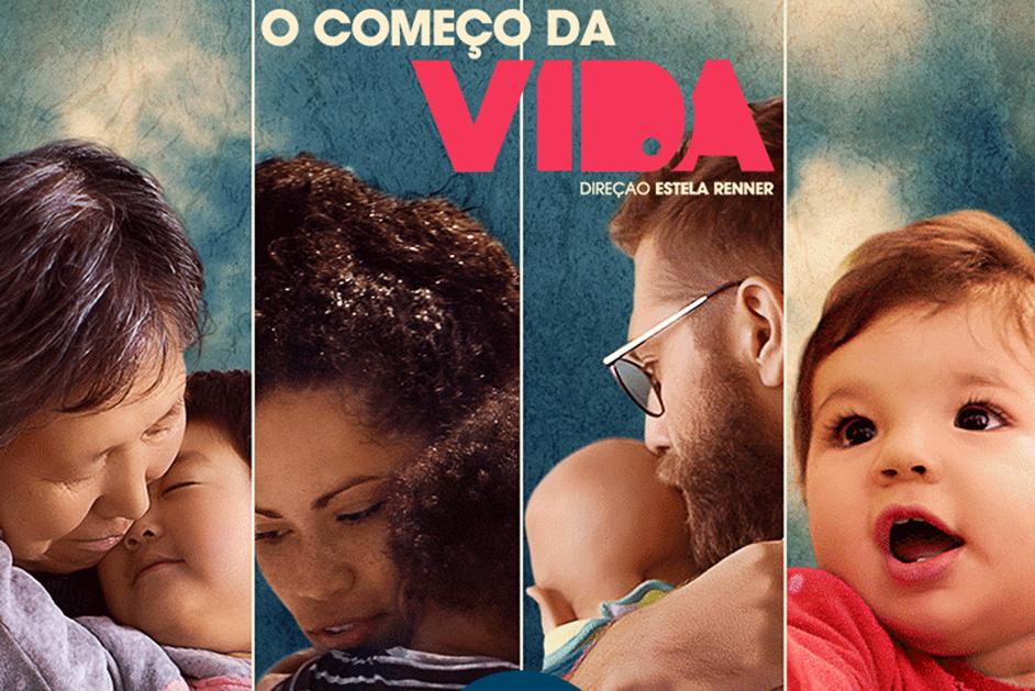 """Alunos de Pedagogia de Vitória assistem documentário """"O começo da Vida"""""""