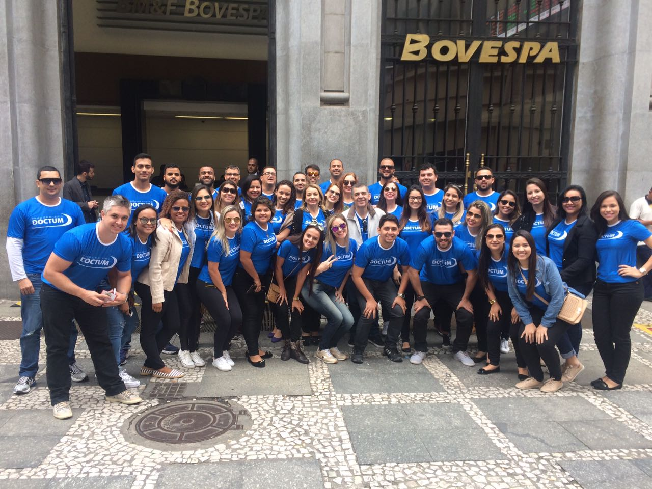 Alunos de Administração de Vitória e Vila Velha visitam a Bovespa