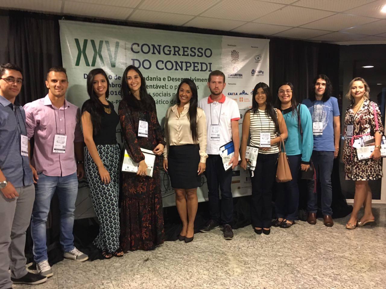 Alunos da Doctum ficam em 1º e 2º lugares em Congresso Nacional de Direito