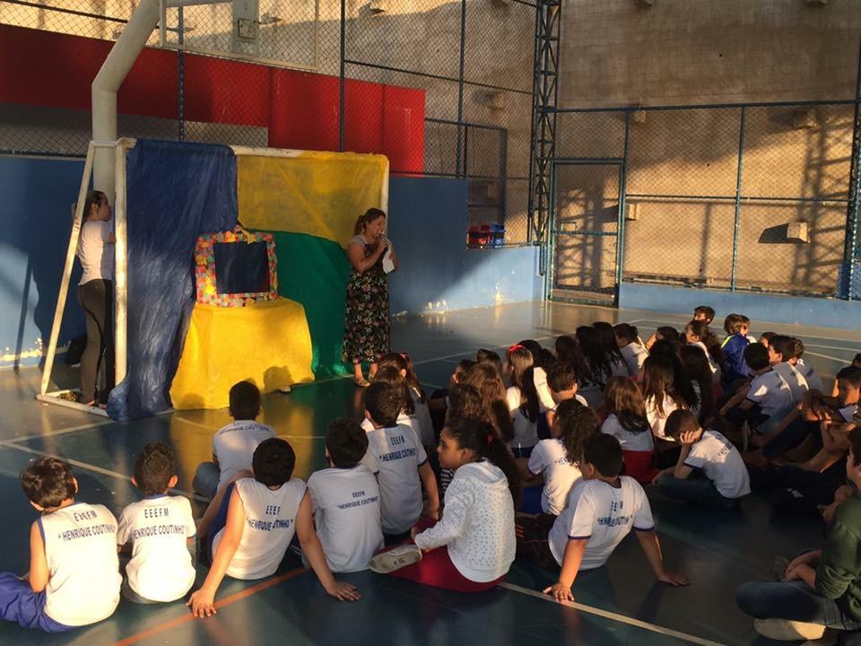 Projeto Criança Feliz permite que alunos vivenciem momentos de integração social