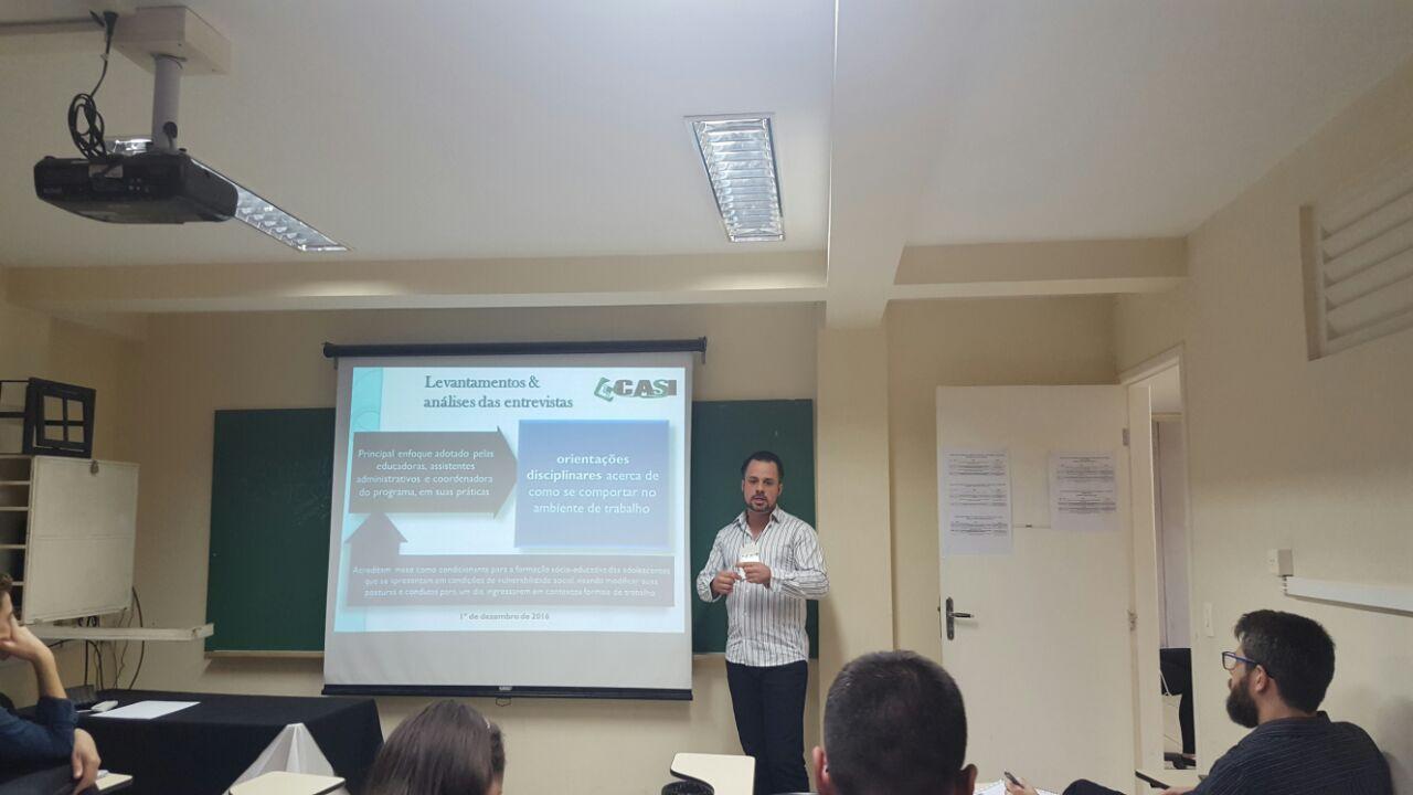 Coordenador do curso de Administração da Doctum apresenta trabalho em Congresso na UFJF