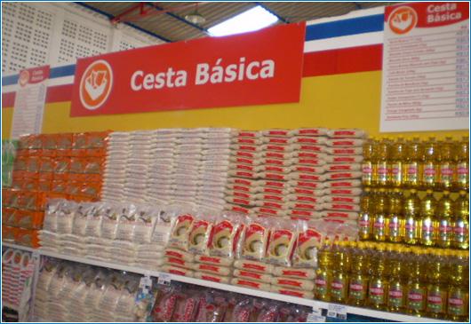 Cesta básica da classe média de Caratinga registra queda de 0,63% em novembro