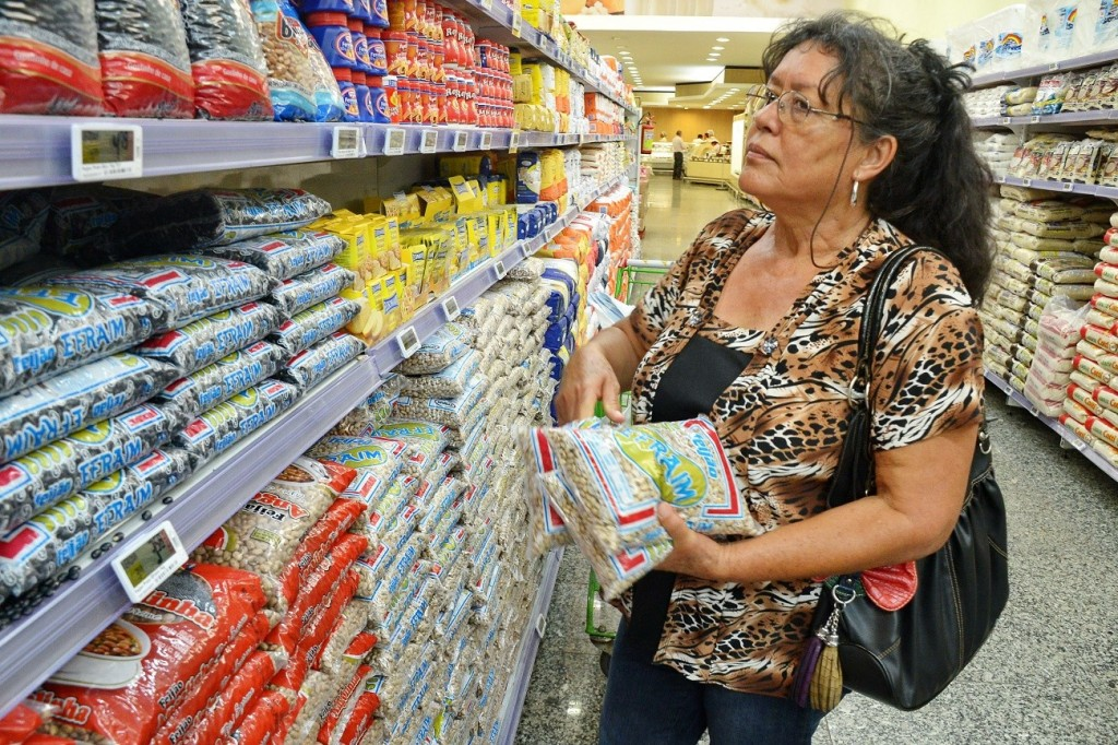 Cesta básica da classe média de Caratinga registrou queda de 1,77% em dezembroo