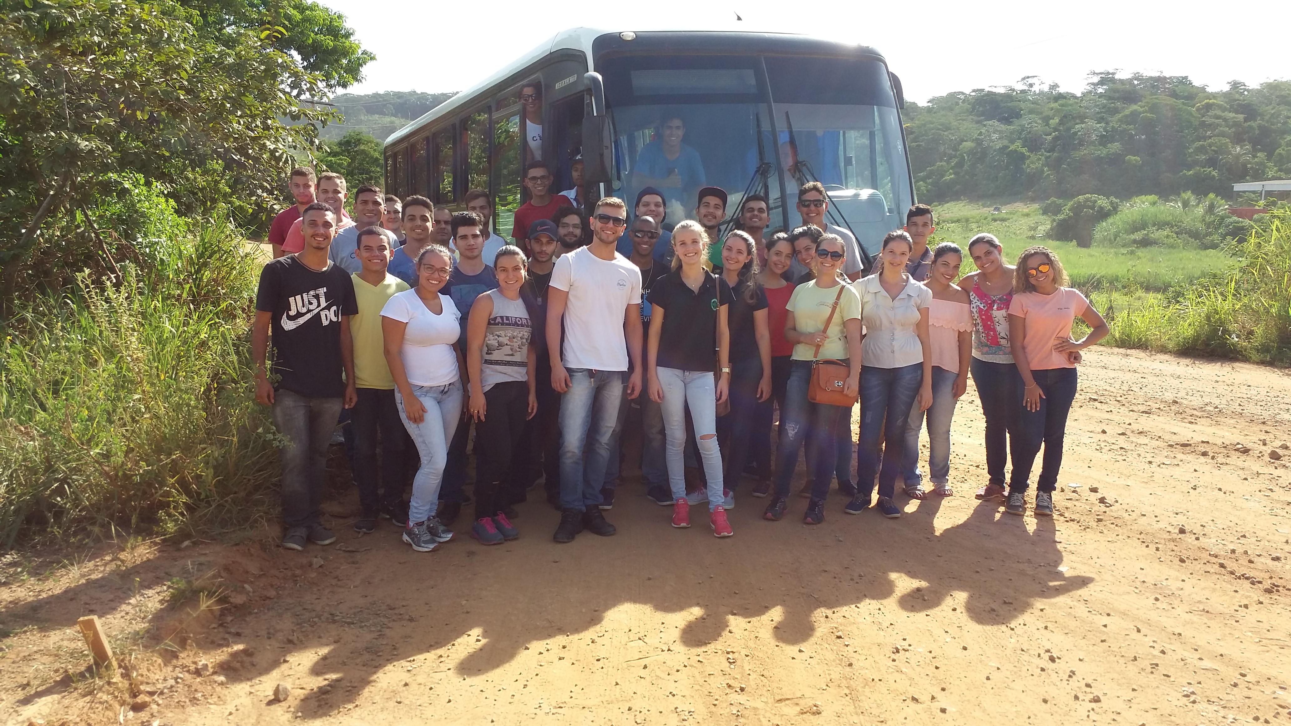 Alunos de Engenharia Civil da Doctum Cataguases realizam visita técnica nas Barragens da CBA