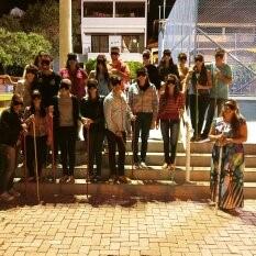 Experiência inédita apresenta universo dos portadores de necessidades especiais aos alunos de Iúna