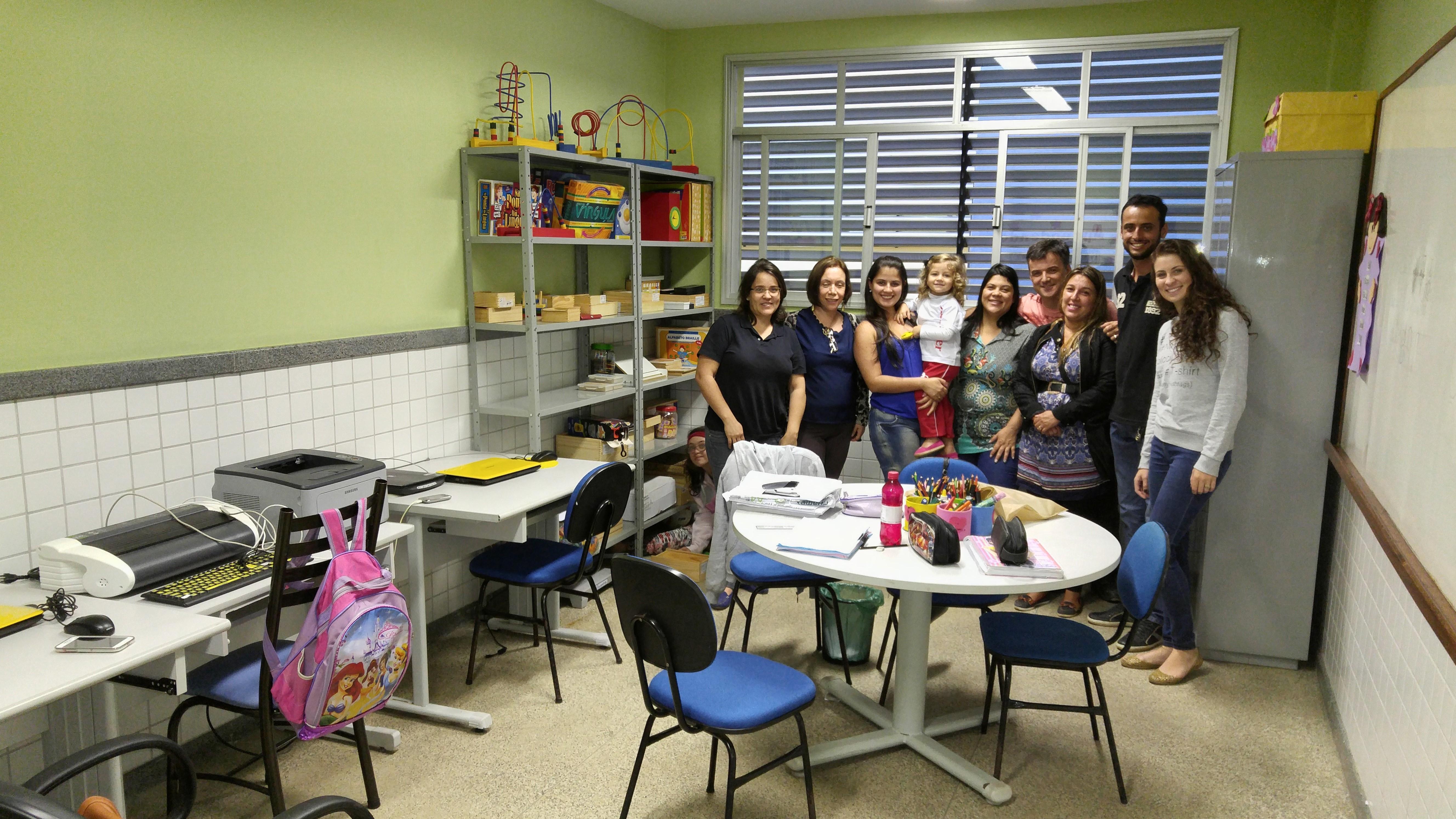 Alunos de Iúna visitam escola com objetivo de aperfeiçoar prática docente