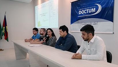 Estudantes da Doctum Caratinga colocam em prática diversas formas de conhecimento extraclasse
