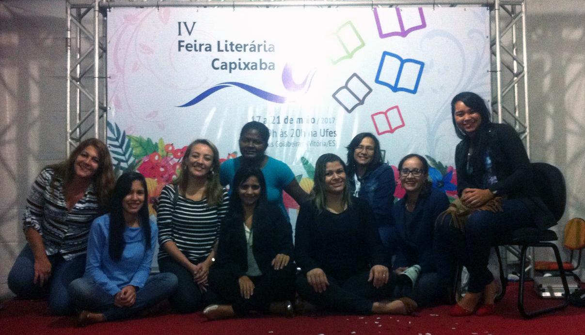Alunos do curso de Pedagogia da Unidade de Vila Velha participam da IV Feira Literária Capixaba na UFES