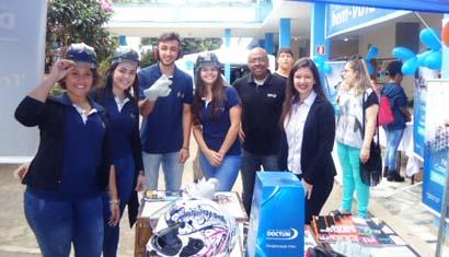 Unidades de Leopoldina e Cataguases participam de Feira das Profissões