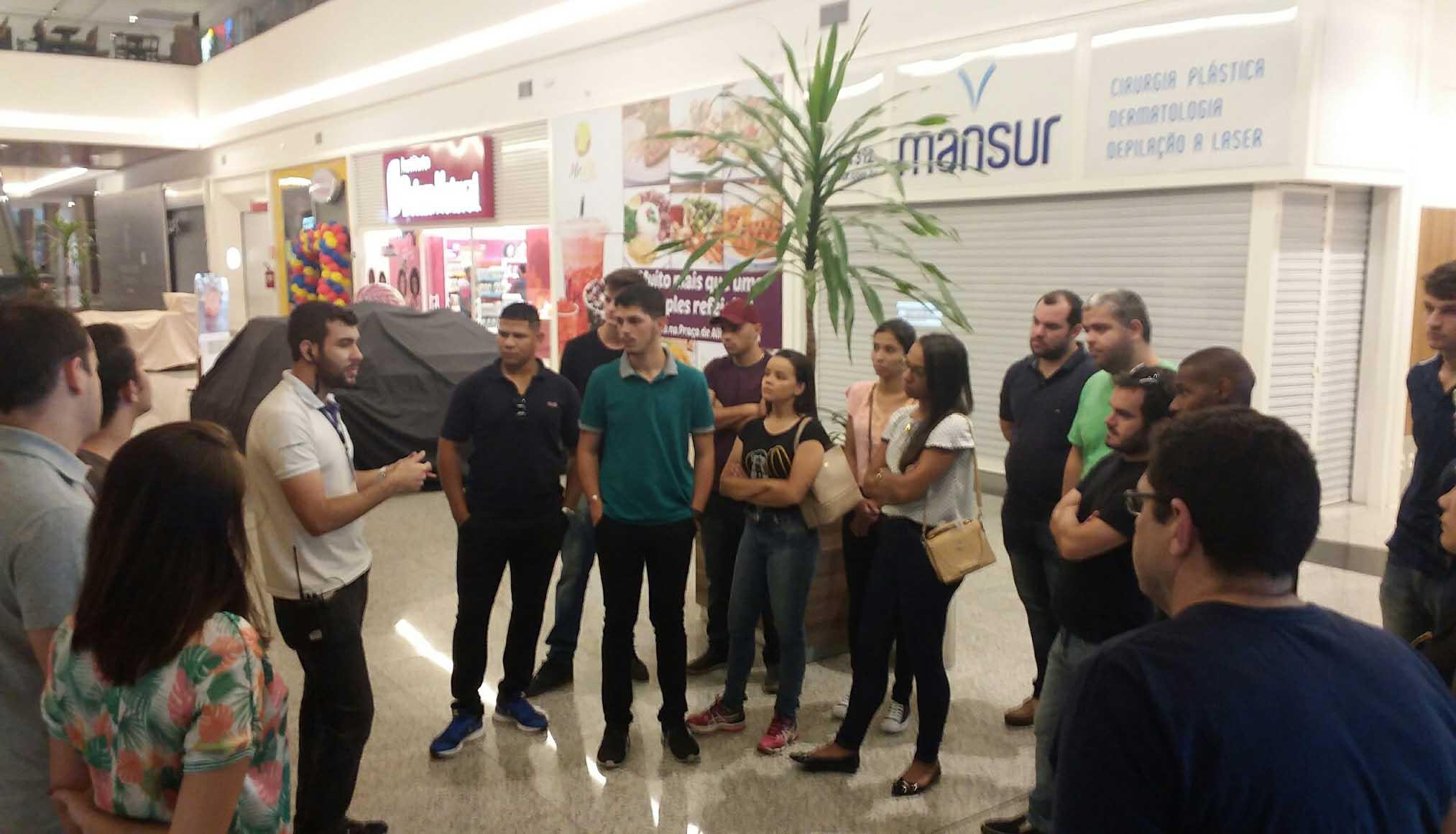 Turma de Engenharia Civil da Doctum Cataguases realiza visita técnica