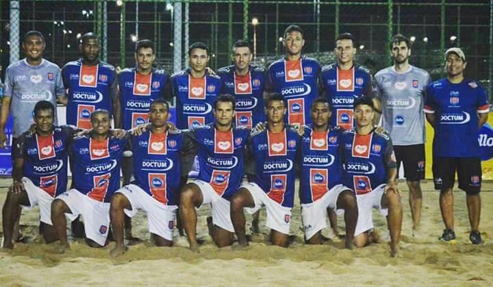 Geração/Doctum está na final do Vitória Beach Soccer Cup