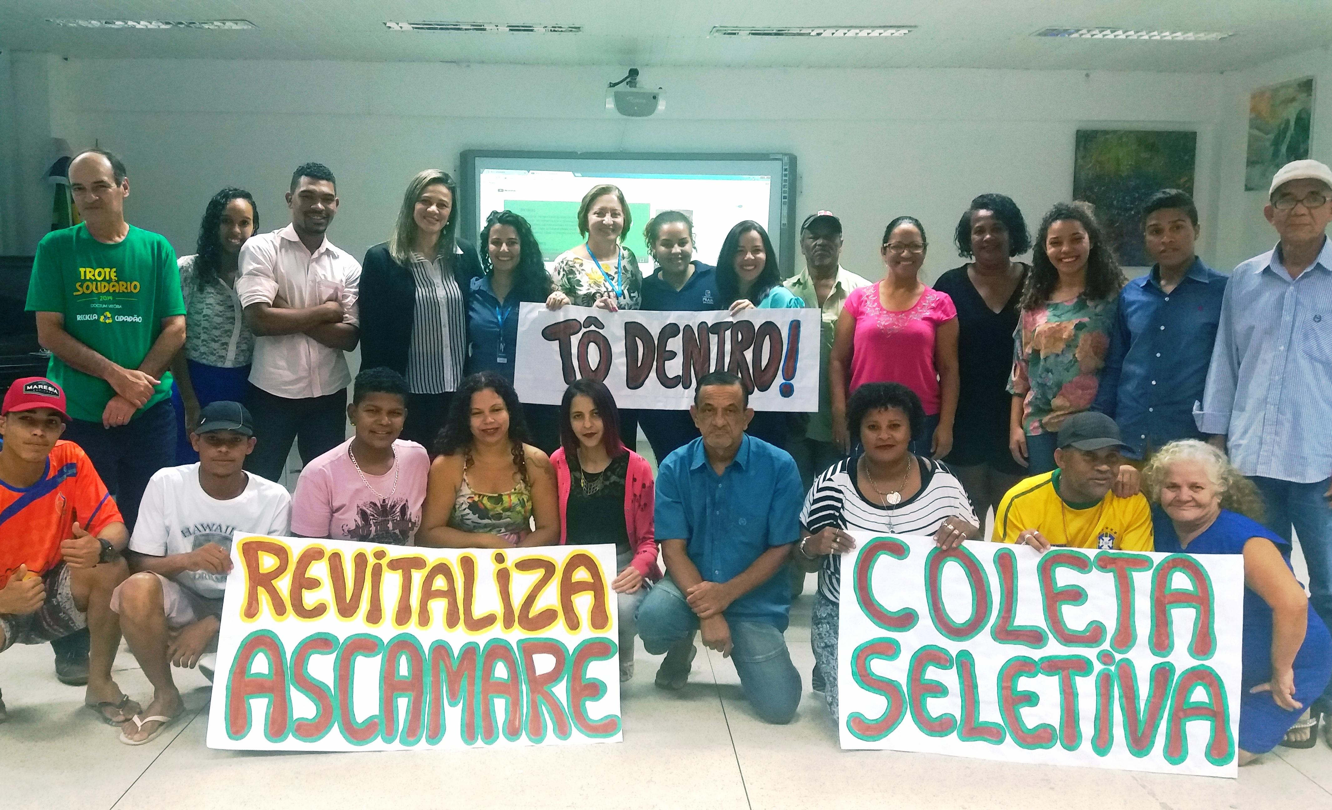 Unidade Vitória realizada Bazar Solidário para membros da Ascamare