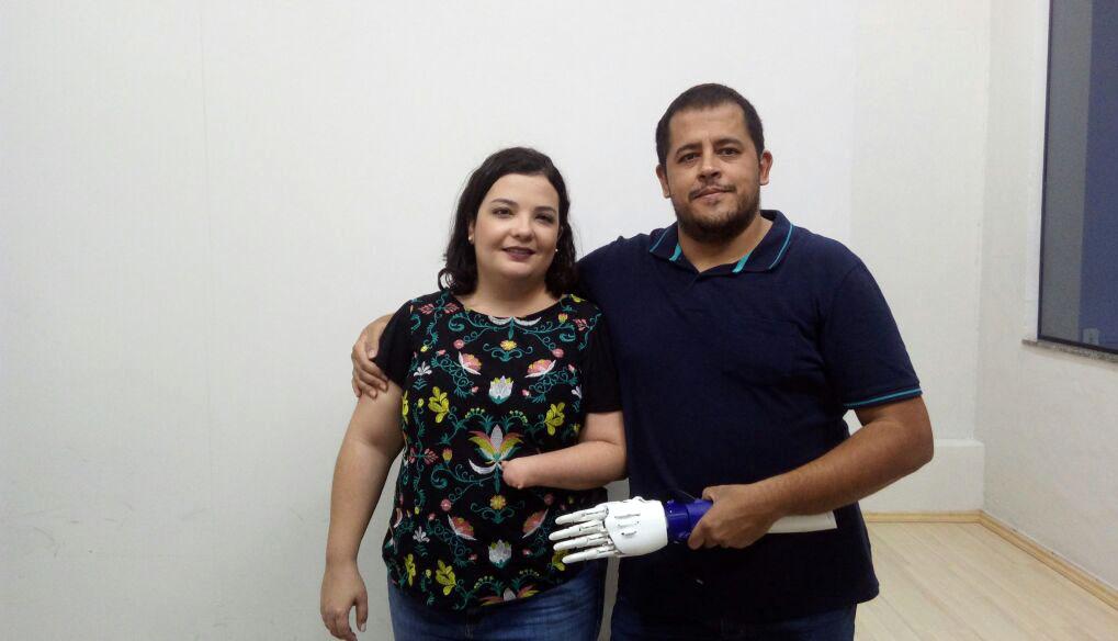 Aluno de Ciência da Computação da Doctum Caratinga desenvolve protótipo de Braço Robótico