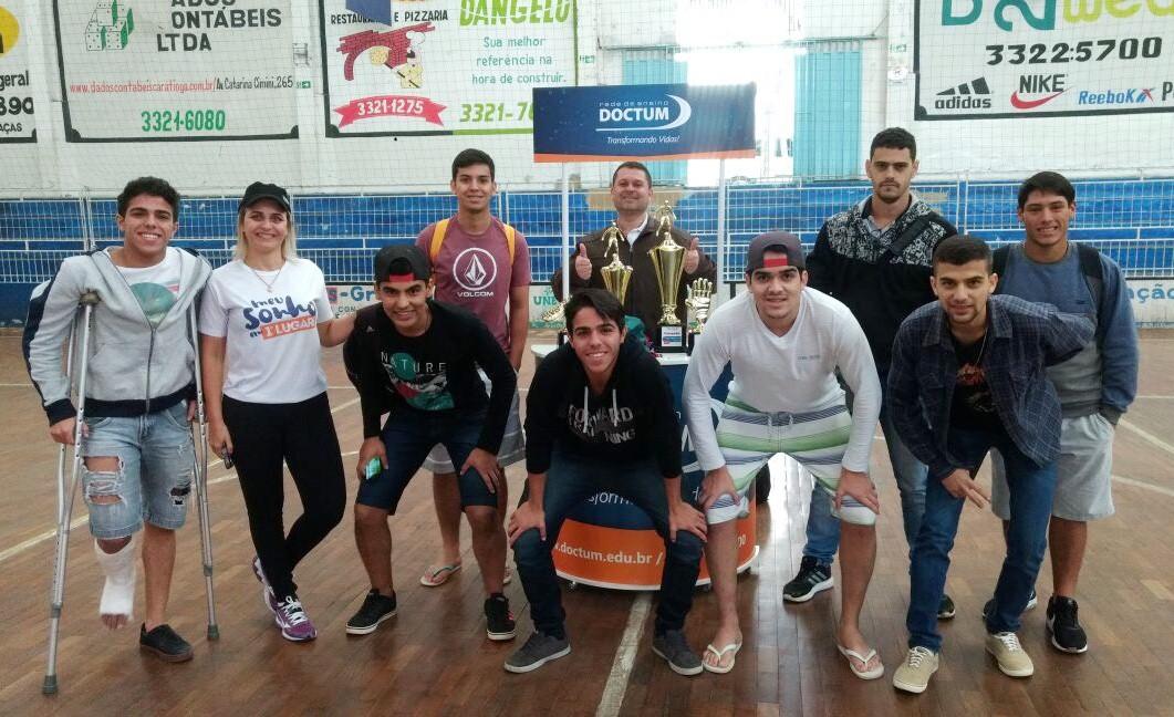 Doctum Iúna participa de torneio de futsal