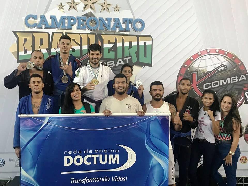 Equipe Leão de Judah/Doctum é destaque no Campeonato Brasileiro de Jiu-Jitsu