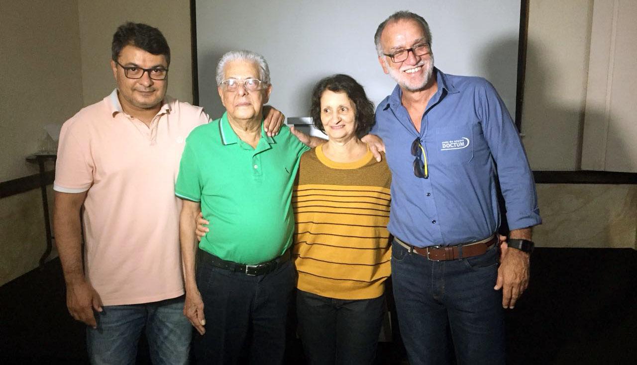 Em Caratinga, Doctum realiza homenagem ao Professor Reinaldo Silveira Prates