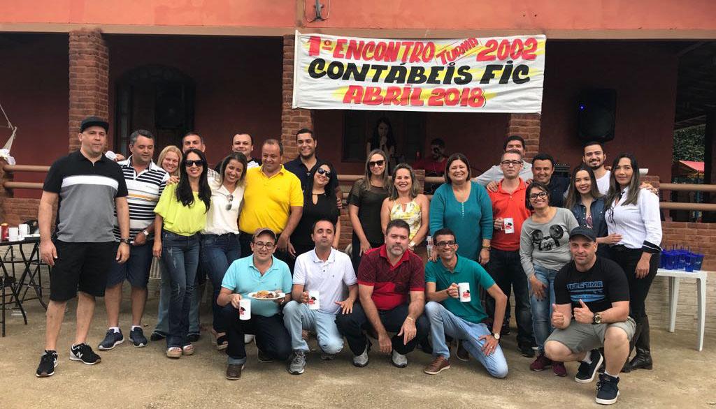 Ex-alunos formados em Caratinga realizam o 1° Encontro da Turma de 2002 do curso de Ciências Contábeis