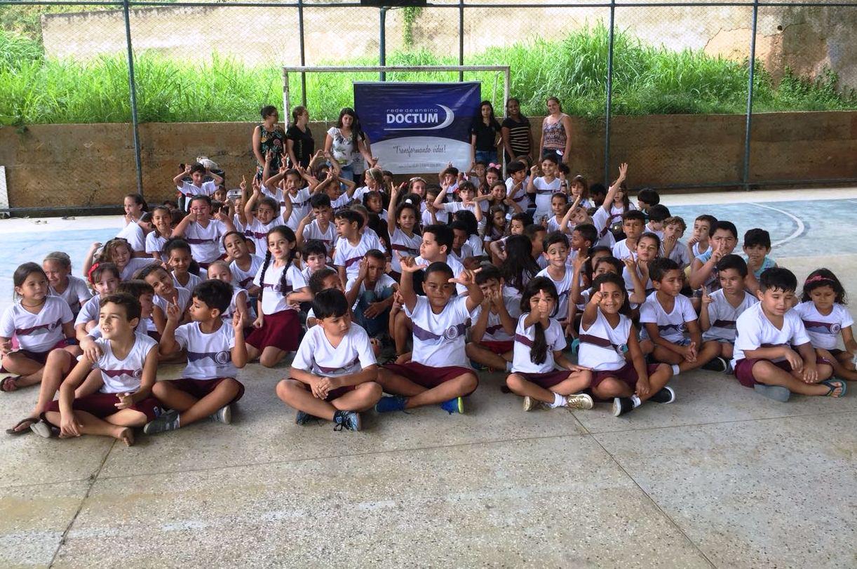 Doctum Iúna realizam ação de Páscoa para crianças da comunidade