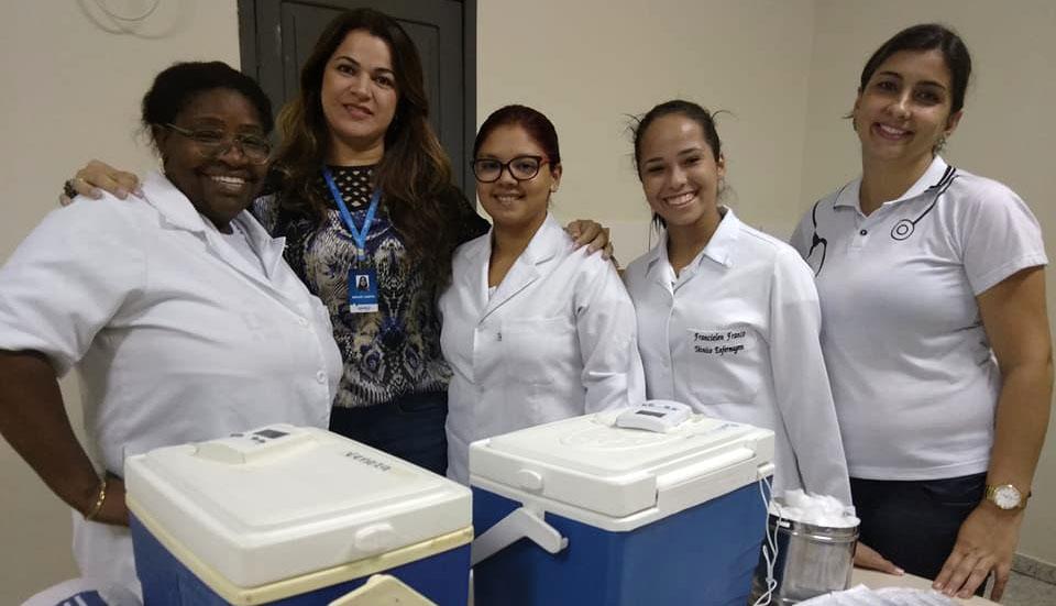 Em parceria com a Secretaria de Saúde, Doctum Ipatinga imuniza professores contra o vírus Influenza