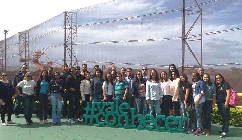 Alunos da unidade Vila Velha visitam Complexo de Tubarão da Vale