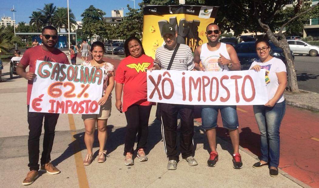 Doctum Vitória promove ação de conscientização contra a alta carga tributária no país