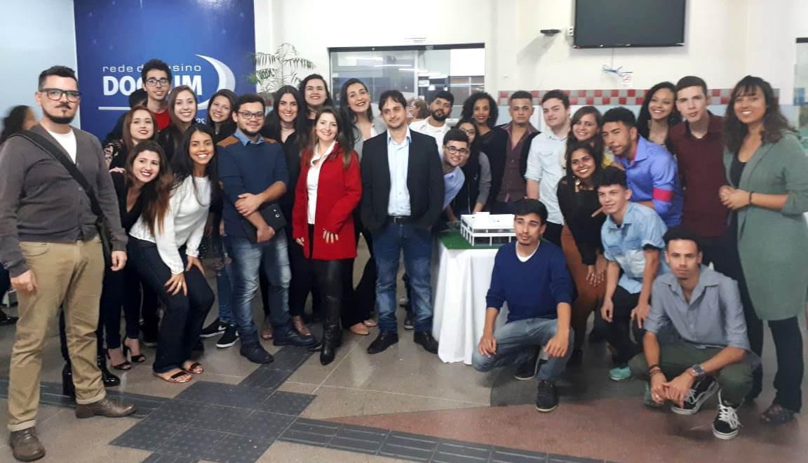 Semana acadêmica de Arquitetura e Urbanismo movimenta a unidade de Caratinga