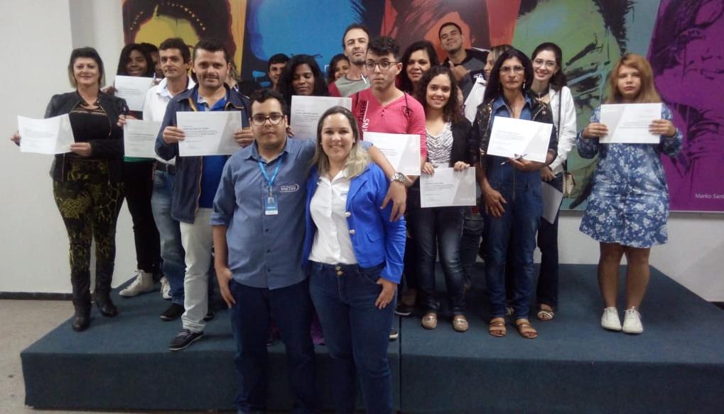Doctum realiza curso de Noções Básicas de Informática para a comunidade de Caratinga