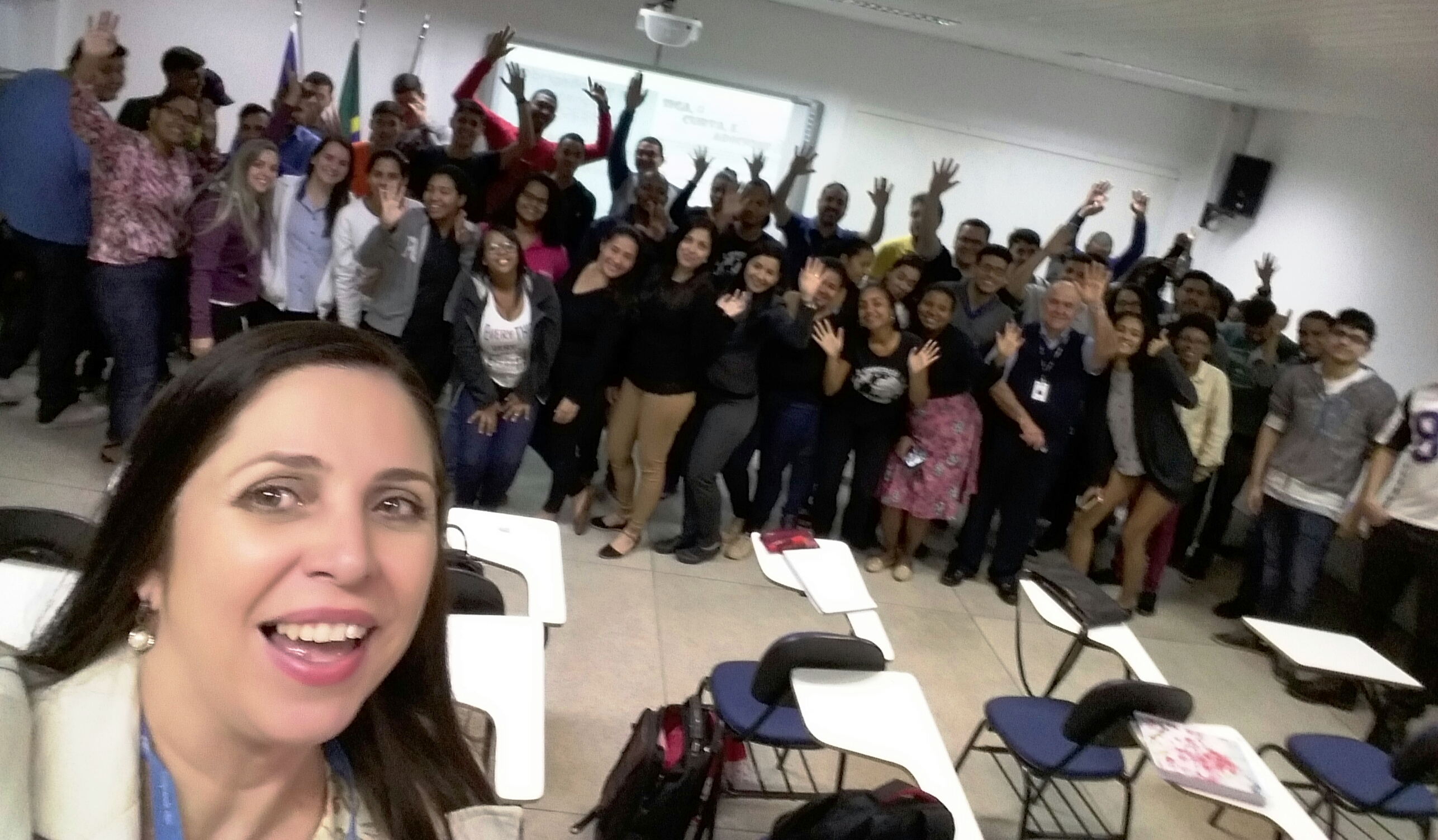 """Unidade Vitória realiza palestra de """"Marketing Pessoal"""" para o curso de Administração"""