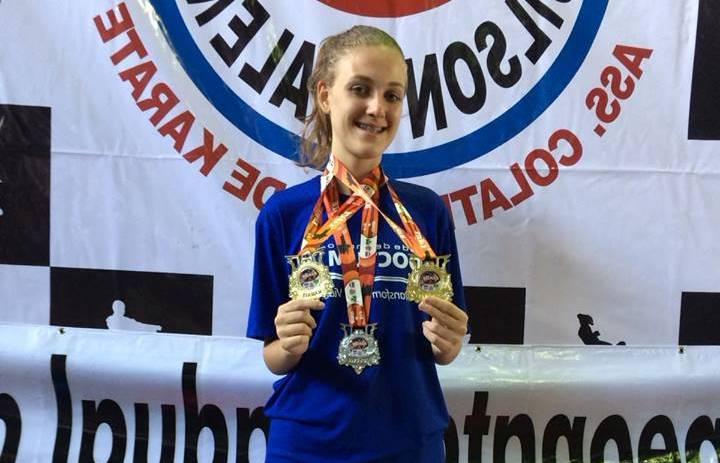 Atleta Doctum conquista 3 medalhas no Campeonato Capixaba de Karatê