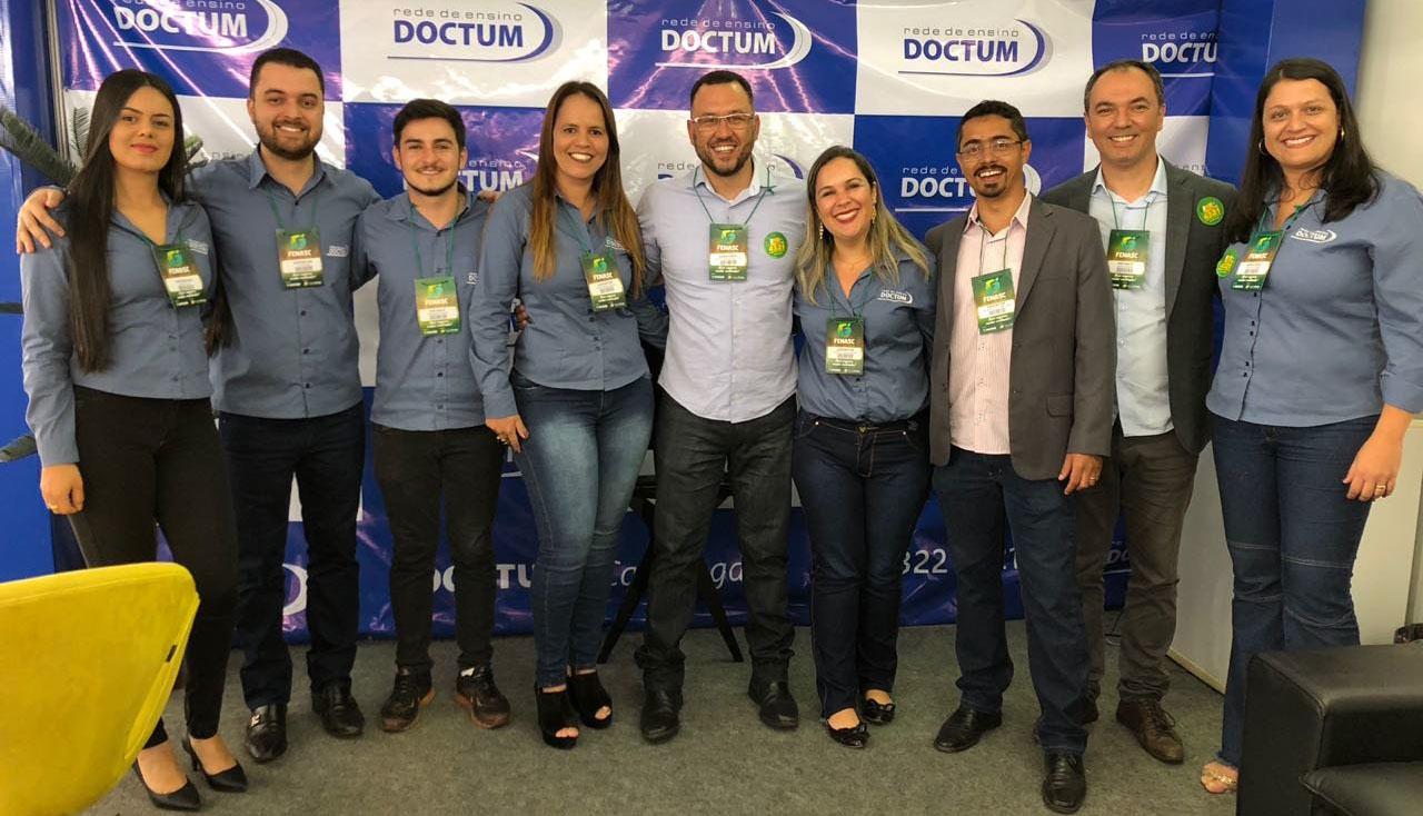 Doctum marca presença com stand na FENASC 2018