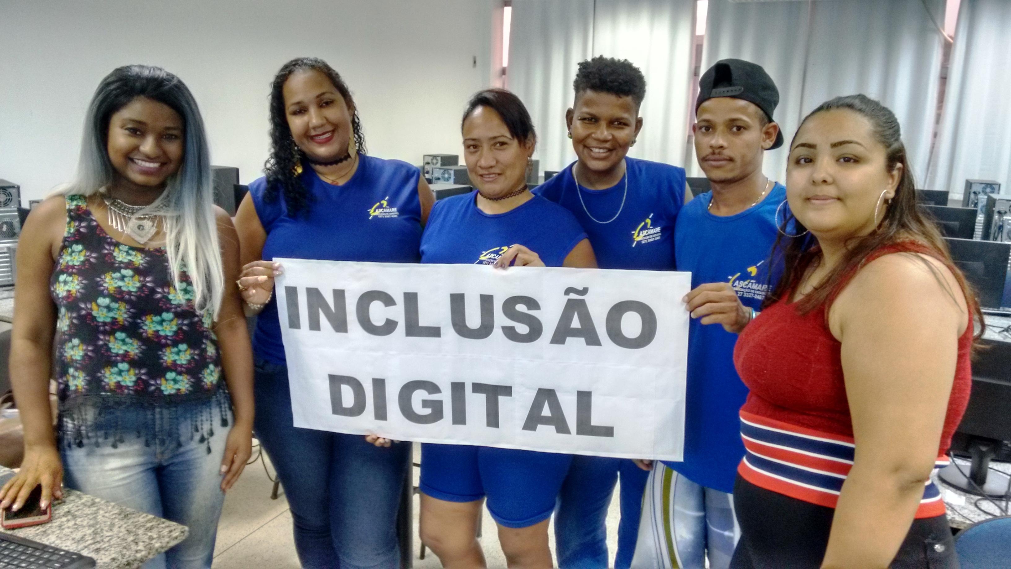 Núcleo de Extensão de Vitória cria projeto de inclusão digital para a comunidade